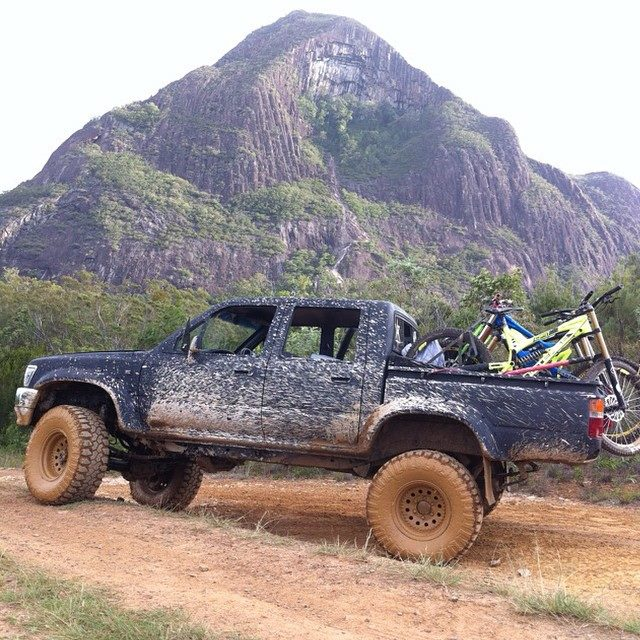 Mt. Beerwah, Glasshouse Mountains QLD.